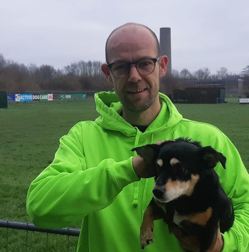 Andy Stienstra medewerker hondendagopvang